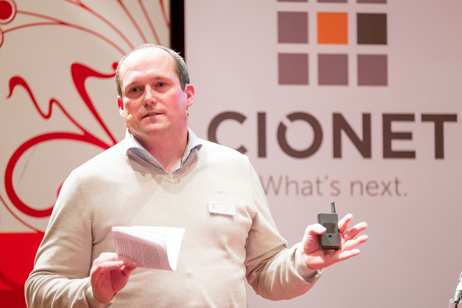 CIONET Belgium - What's Next 2018